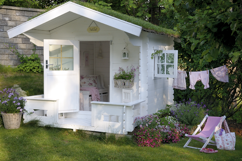Domek dla dziecka jaki jest idealny do zabawy w ogrodzie for Cottage come case