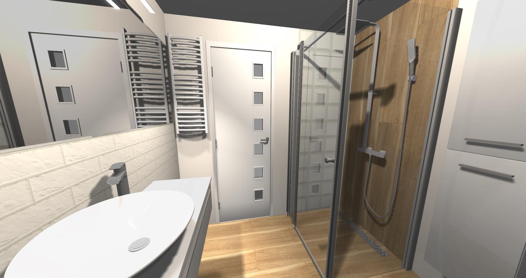 Biała Mała łazienka Z Oknem Nasz Projekt Oraz Inspiracje